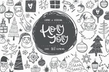 Holly Jolly Winter Doodles 6339624 11