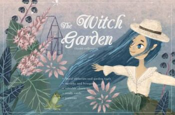 Witch Garden Clipart Collection 5247213 5