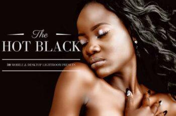 30 Hot Black Lightroom Presets, LR Theme 3332646 3
