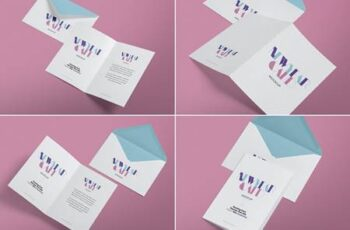 Greeting Card Mockups DYRLXWV 6