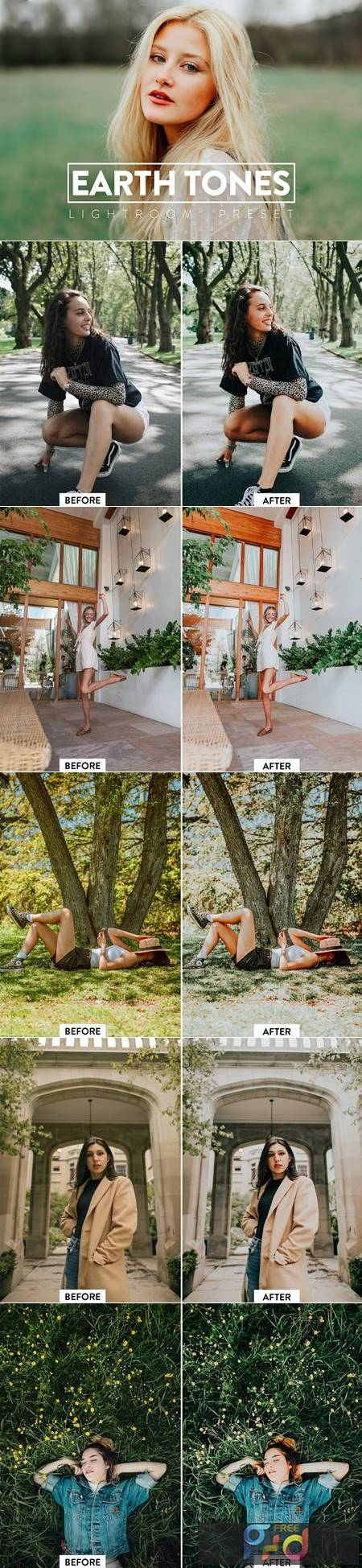 10 EARTHY TONES Lightroom Preset 5533013 1