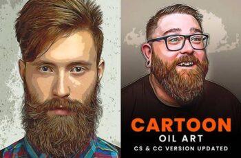 Cartoon Oil Art Painting 5529658 3