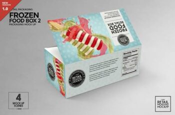 Retail Frozen Food Packaging2 Mockup 5730740 5