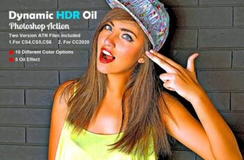 Dynamic HDR Oil Photoshop Action 5608920 4