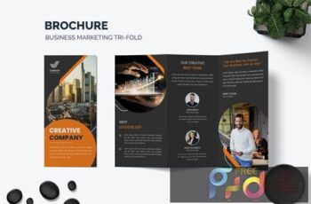 Company Profile Brochure Template V722P27 2