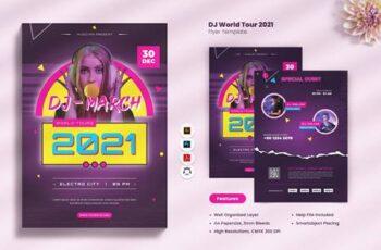 DJ World Tour 2021 Flyer RYBMEQD 3