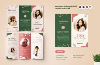 Fashion Catalogue 2021 Trifold Brochure 4SKHKJV 2