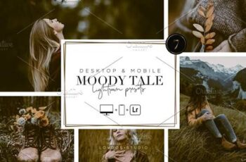 MOODY TALE - Lightroom Presets 5667429 2