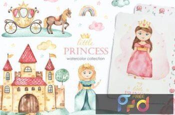 Little princess Watercolor JN68NJF 7