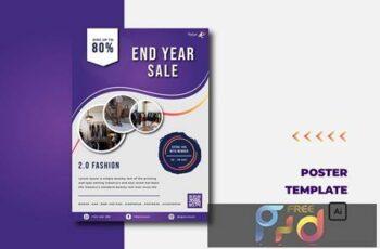 Purple End Year Sale - Flyer H3AUJJA 6