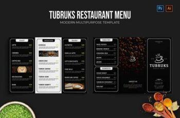 Tubruks - Restaurant Menu UH2TBFD 13