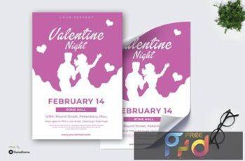 Valentine Night vol.01 - Poster TY PCWVCJM 4