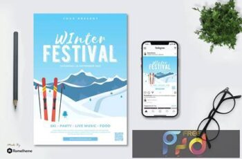 Winter Festival vol.01 - Flyer TY PUKB3HV 5