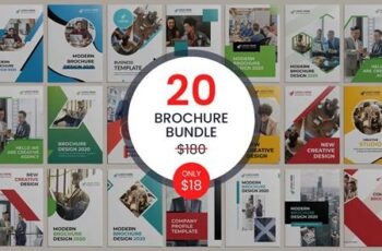 20 Bi-fold Brochure Template Bundle 5487372 6