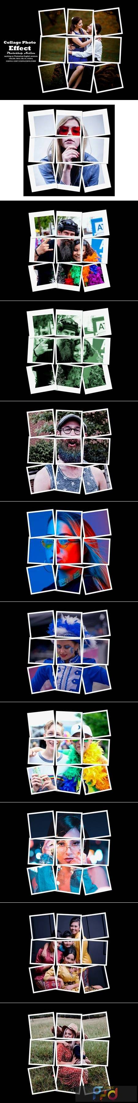 Collage Photo Effect PS Action 5540326 1
