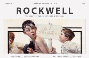 Rockwells Art Procreate Brushes 5500528 6
