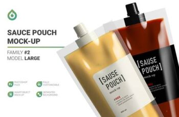 Sauce Doypack Pouch Mockup 5704035 7