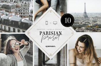 Parisian Lightroom Presets Bundle 5251294 2