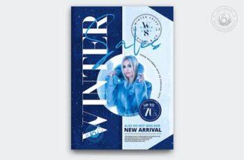 Winter Sale Flyer Template Z23BKH9 14