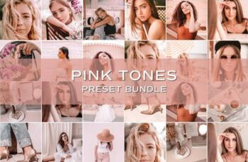 30 Pink Lightroom Preset Bundle 5701831 3