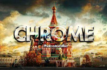 Chrome photo vs text effect mockup 5710555 6