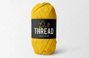 Thread Roll Mockup Set 29854877 2