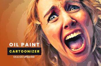 Oil Paint Cartoonizer 5507645 5
