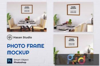 Blank Photo Frame Mockup - Nuzie DSJSN35 7