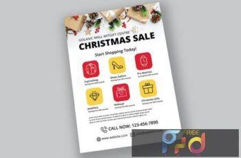 Fashion Christmas Sale Flyer J8BDEF9 12