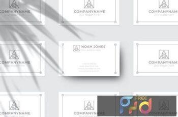 Business Card Mockup QB96VNC 3