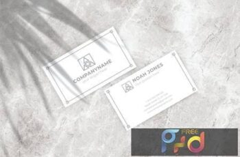 Business Card Mockup 6W3Y9UT 5