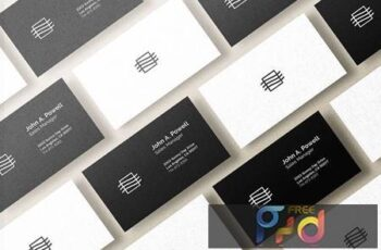 Business Card Mockup 3WULAS7 6