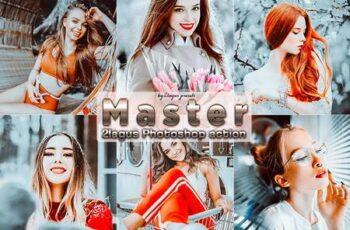 Master Portrait Photoshop Actions UNX4Q4Z 4