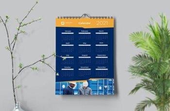 Dynamic Yellow Calendar VNM4C87 4