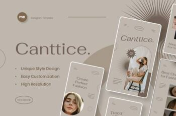 Canttice - Fashion Instagram Stories Template NRJBCVS 16