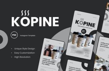 Kopine - Coffee Instagram Stories Template 5Z2QCQ6 15
