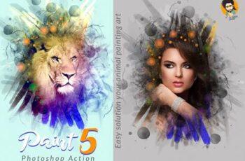 Paint Photoshop Action 5 5751430 2