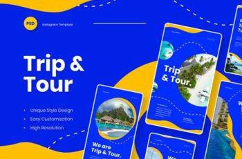 Trip & Tour - Instagram Stories Template K8BJLZE 8