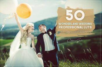 50 Wonderland Wedding LUTs Pack 5754967 2