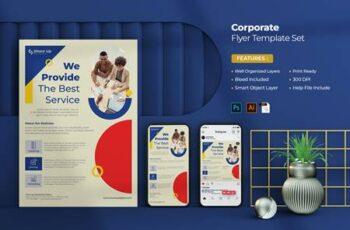 Corporate Flyer Set CAS5HM7 7