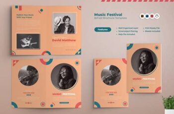 Music Festival Bifold Brochure 2QYBZC7 4