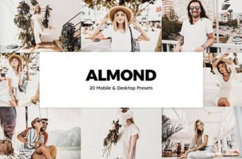 20 Almond Lightroom Presets & LUTs 5785161 7