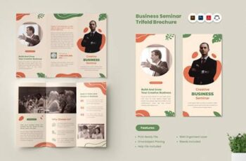 Seminar & Workshop Trifold Brochure 3W97PC3 7