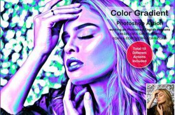 Color Gradient Photoshop Action 5478566 6