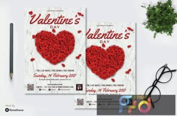 Valentine vol.01 - Flyer RB 7NFVDM3 4