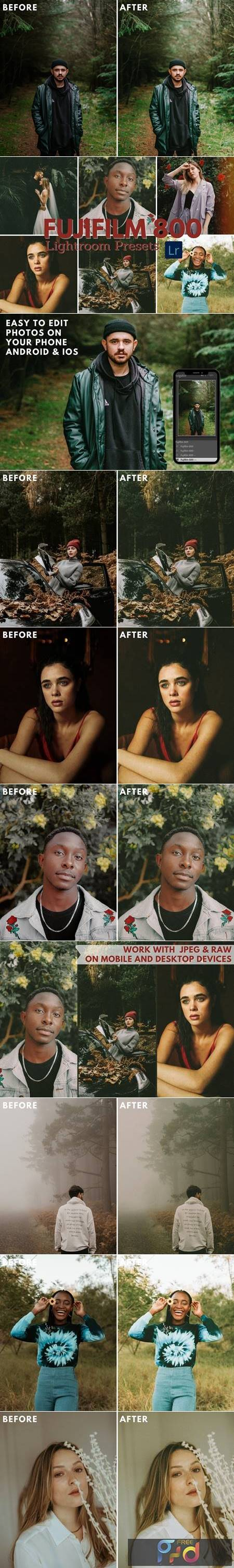Fujifilm 800 Lightroom Film Presets 5744805 1