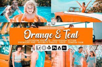 Orange and Teal Presets 5698211 6