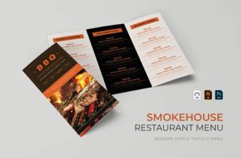 BBQ Smokeshouse - Restaurant Menu W7W5BRP 13
