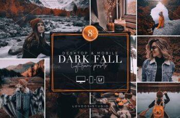 DARK FALL - Lightroom Presets 5782057 4
