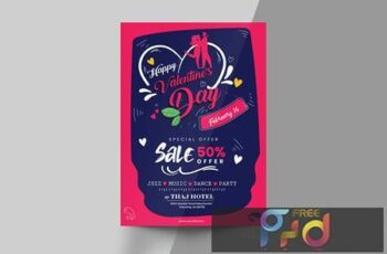 Valentines Day Flyer Template S7QEZ7F 8